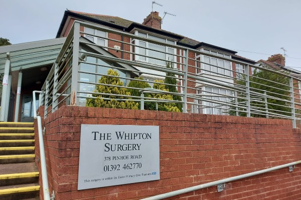 image of the whipton surgery